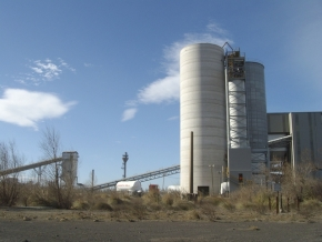 Ferretti France - Project and construction New Silo 2 Ecocem
